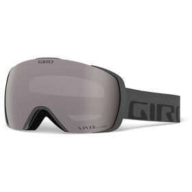 Giro Contact Maschera, grey/vivid onyx/vivid infrared
